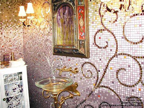 Mosaic Bathroom Wall by 105 Best Mosaic Back Splashes Images On Mosaic