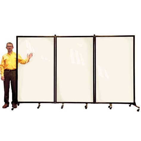 Acrylic Room Divider Screenflex Crd3 Clear Acrylic Room Divider 3 Panel 10 L