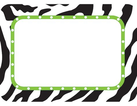printable zebra name tags zebra name tags labels tcr5173 171 products teacher