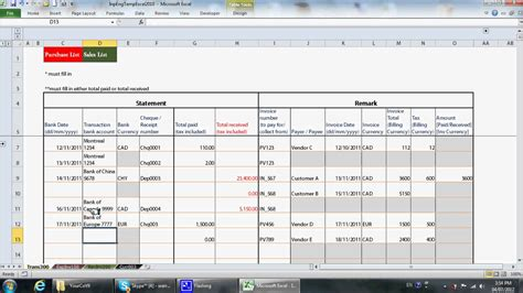 bookkeeping excel templates bookkeeping spreadsheet