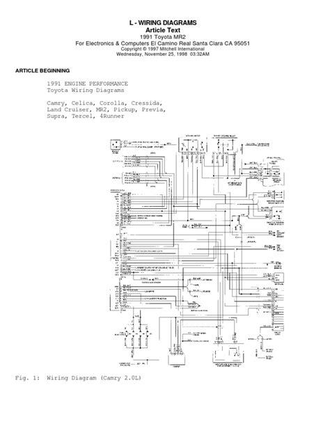 toyota ecu wiring diagram 3sgte circuit diagram maker