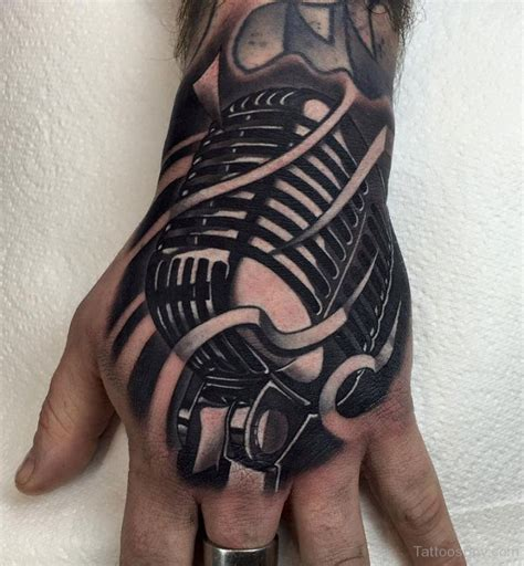 microphone tattoo on wrist music tattoos tattoo designs tattoo pictures page 2