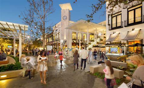 layout of topanga mall village at westfield topanga fuscoe engineering inc