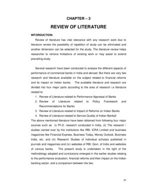 Review Of Related Literature Pdf by Literature Review In Pdf