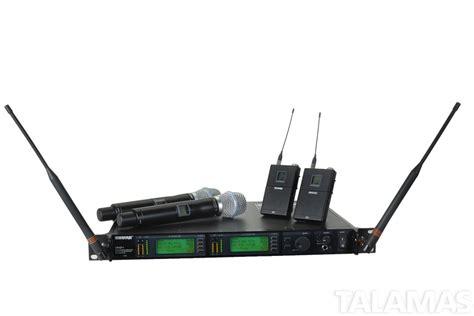 Mic Wireless Shure U 8888 rental shure ur4d ur1 ur2 wireless microphone system