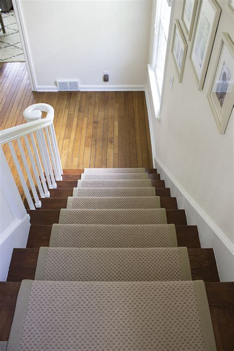 Diy Runner Rug Stair Runner Diy With Sisal Rugs Direct Room For Tuesday