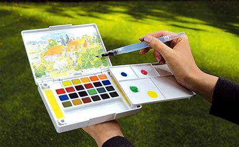 Cat Air Koi Watercolors 24 Color Sketch Pocket Box Set Jual Koi Watercolors 24 Color Sketch Pocket Box Set