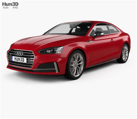 coupe models audi s5 coupe 2017 3d model hum3d