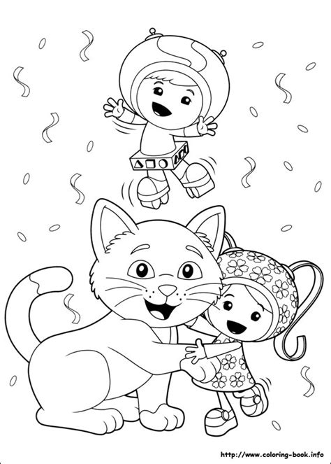 coloring book umizoomi umizoomi coloring picture