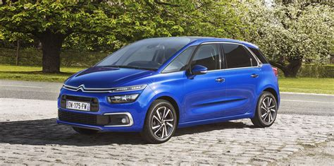 Citroen Picasso by 2017 Citroen C4 Picasso Grand Picasso Facelift Unveiled
