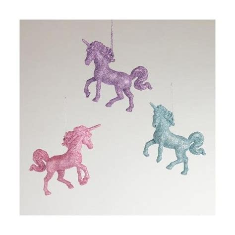 unicorn home decor cost plus world market unicorn ornaments 12 liked on