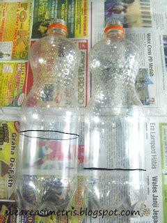 Fanta Botol Besar Asimetris Tempat Pensil Dari Botol Plastik Bekas