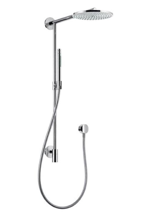 Hans Grohe Hansgrohe Raindance Connect Showerpipe Converts Into