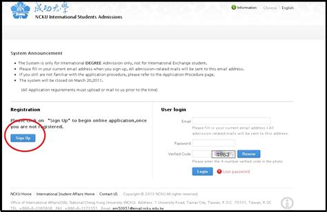 email edu ncku national cheng kung university office of