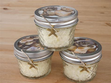 Mason Jar Wedding Giveaways - beach wedding favors mason jar favors by jirehcraftycreations
