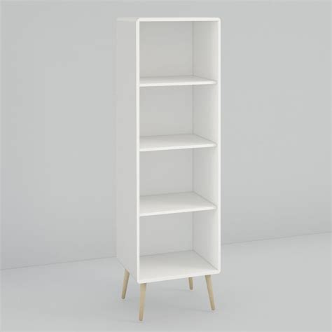tall thin bookcase 6 shelves tall narrow etagere product image for crosley aimee narrow