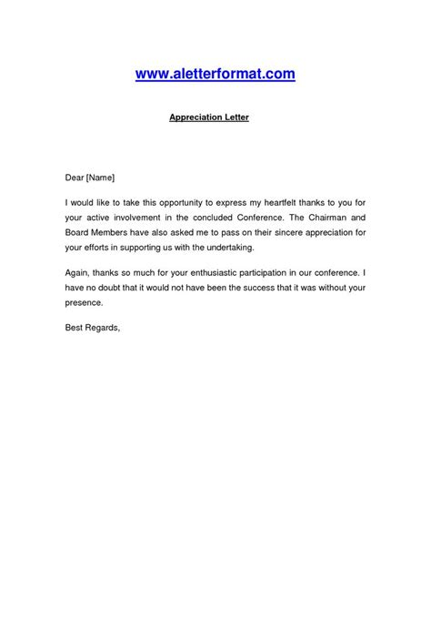 Appreciation Letter Of Credit Appreciation Letter Appreciation Letter For Active Involvement Document Letters