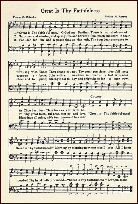 Wedding Blessing Hymns by Birdie Blessings Great Is Thy Faithfulness Hymns