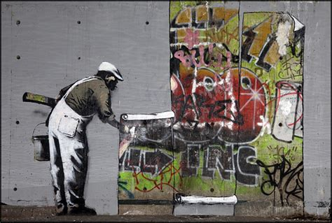 book reports banksy  protest art