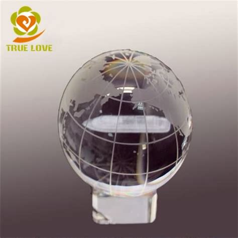 Glass Globe L by Sphere Product Categories Trophies Glass Awards 3d Laser