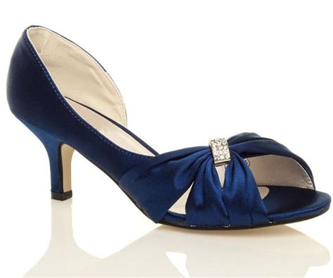 Navy Blue Bridal Heels by 25 Best Ideas About Navy Wedding Shoes On