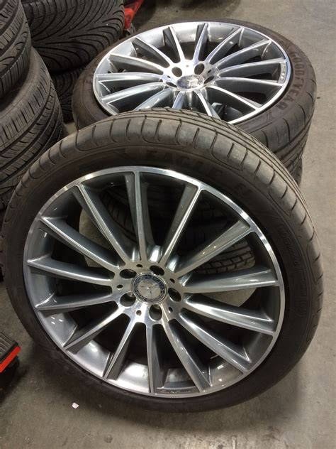 Mercedes Wheels And Tires by Fs W222 20 Quot 2015 Mercedes S550 Oem Amg Wheels With