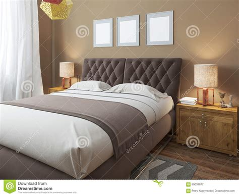 da letto grande grande letto matrimoniale moderno di lusso nello stile