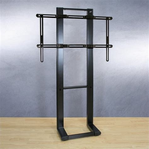 flat screen tv stands with mounts bell o optional metal flat panel lcd plasma floor stand