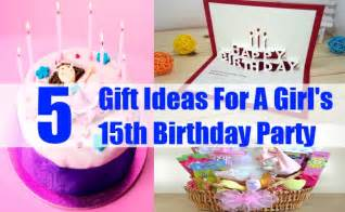 Fabulous gift ideas for a girl s 15th birthday party unique gifts