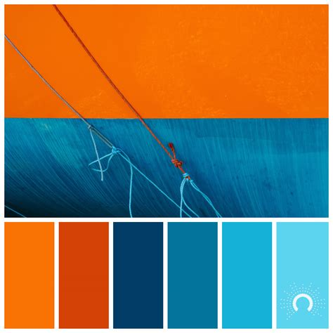 blue orange color scheme orange astelle s colors