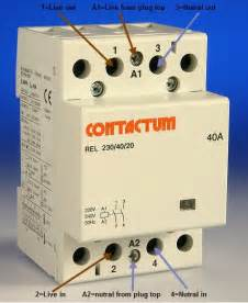 wiring a contactor diynot forums
