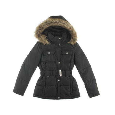 laundry design winter coats laundry by design 1731 womens hooded outerwear puffer coat