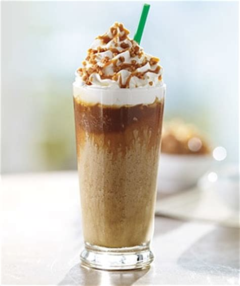 Chocolate Grande Coffee Toffee caramel ribbon crunch frappuccino 174 blended coffee