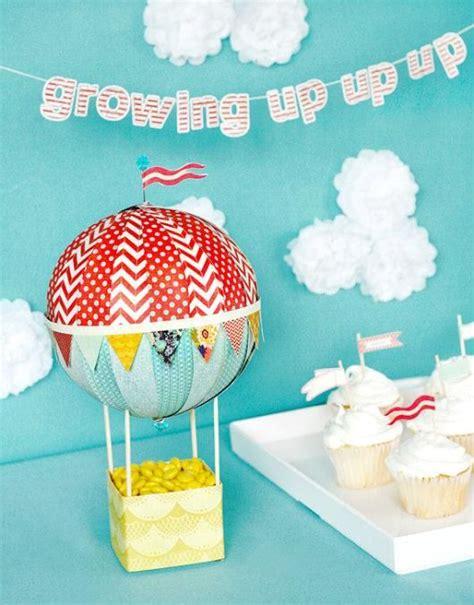Air Balloon Baby Shower Ideas by Air Balloon Baby Shower Ideas Baby Shower Ideas