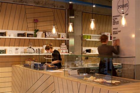 Take Away Shop Interior Design by Roost Coffee Take Away By Buroblas 233 Loeff Amsterdam