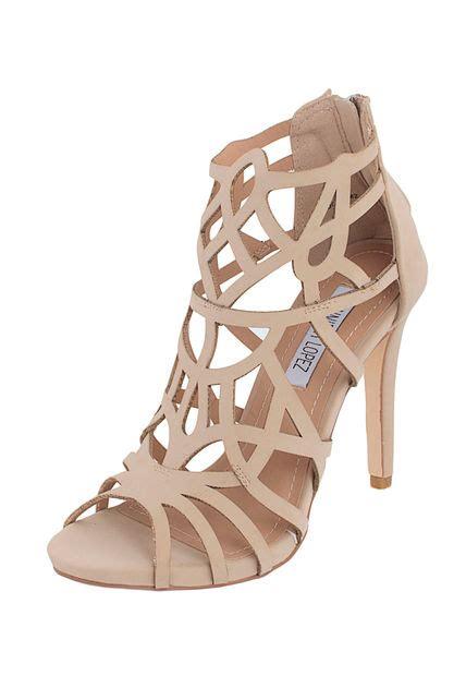 jennifer lopez zapatos zapato de fiesta jennifer lopez agustina beige compra