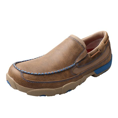 twisted x shoes for s twisted x shoes bomber driving moc blue accents wood