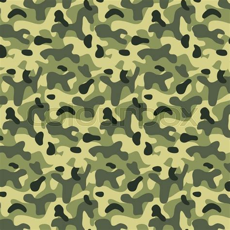 seamless army pattern seamless editable military pattern with green camouflage