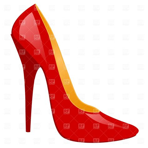 artistic high heels high heeled shoe fashion royalty free