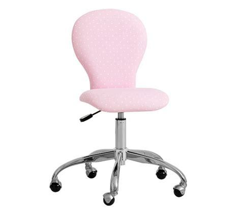 light pink desk chair round upholstered desk chair brushed nickel base