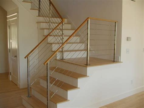 Cable Stair Railings Interior by 1000 Ideas About Cable Railing On Cable