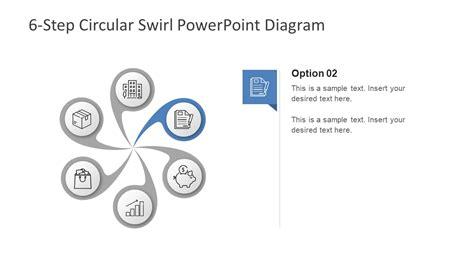 6 steps circular segmented diagram for powerpoint slidemodel free 6 step circular diagram for powerpoint slidemodel