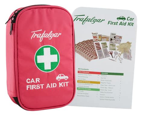 Pink Car Kit by Trafalgar Car Aid Kit Pink Great Daily Deals At