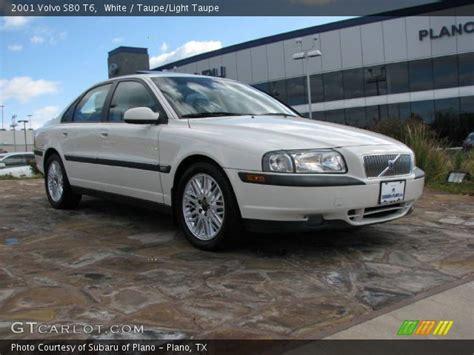 volvo s80 white white 2001 volvo s80 t6 taupe light taupe interior