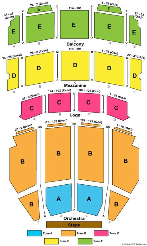 ohio theatre columbus seating chart
