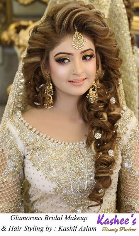 bridal makeup by kashee s parlour bridals bridal hairstyles