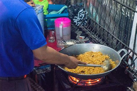 nasi goreng  bean irisan lemaknya meleleh  mulut