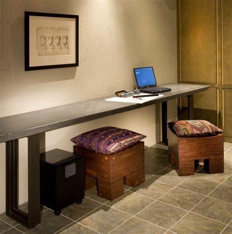 Best 25  Long desk ideas on Pinterest   Home study rooms