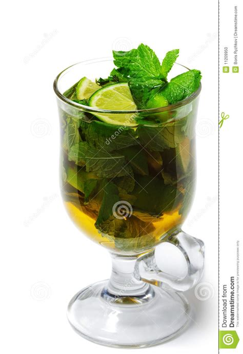 4 Best Drinks For Winter Time by Winter Cocktail Warm Mojito Stock Photo Image 11209950
