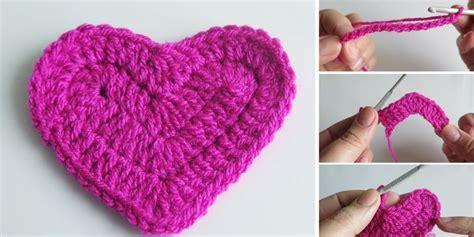 typography heart tutorial crochet heart simple tutorial design peak